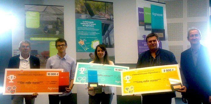Lauréats du 3ème concours Innovations pour l'agriculture