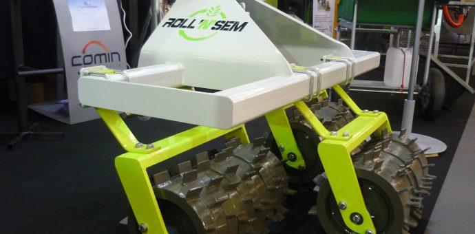 Photo : le Roll'N'Sem, primé par le SIVAL 2018, avait déjà été exposé lors du Vinitech-Sifel 2016  Crédit photo : SMDEN